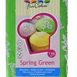FunCakes Pasta di Zucchero Verde Primavera - pacco da 1 Kg