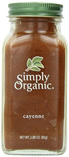 Simply Organic Cayenne Pepper Certified Organic Containers - 2.89 Oz