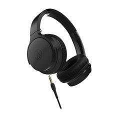Audio-Technica ATH-AR3iS BK Portable On-Ear Headphones