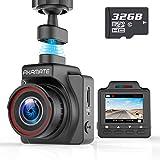 AKAMATE AMA000C1L Dash Cam, Magnetic Dashboard Recording Camera 1.5' Mini Dvr Car Full HD 1080P, 145° Wide Angle