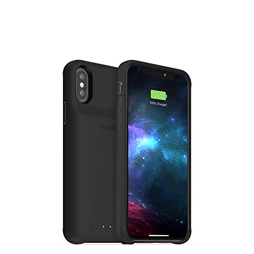 mophie Juice Pack Access - Ultra-Slim Wireless Battery Case - Made for Apple iPhone Xs/iPhone X (2,000mAh) - Black