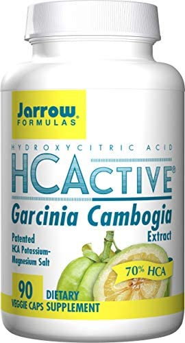 Jarrow Formulas HCActive Garcinia Cambogia, Supports Appetite Control and Weight Management, 90 Veggie Caps 1