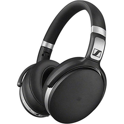 Sennheiser HD 4.50 BT NC Bluetooth Wireless Headphones (Black/Silver) with Active Noise Cancellation