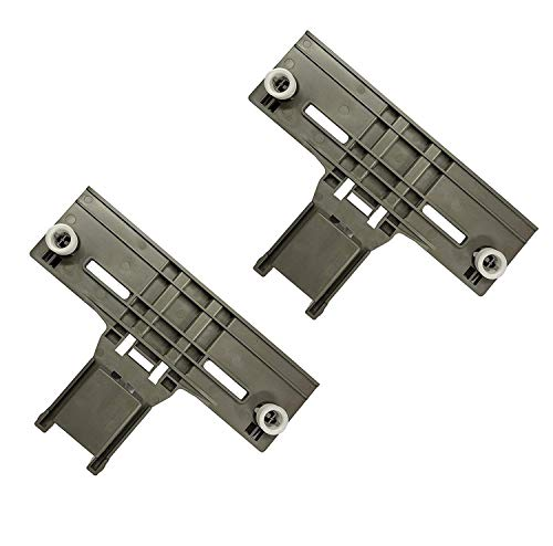 Ultra Durable W10350376 Dishwasher Top Rack Adjuster Replacement part by SANJOIN – Exact Fit For Whirlpool & Kenmore Dishwashers - PACK OF 2