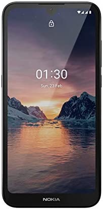 Nokia 1.3 Fully Unlocked Smartphone with 5.7″ HD+ Screen, AI-Powered 8 MP Camera and Android 10 Go Edition, Charcoal, 2020 (AT&T/T-Mobile/Cricket/Tracfone/Simple Mobile)