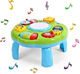 Cable World 2 in 1 Musical Learning Table Early Educational Development Activity Center & Multiple Modes - Assorted Color