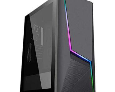SYNTRONIC Gaming Desktop PC CORE i7 4770s / 16 GB RAM/ 120GB SSD & 1TB HDD / 4GB DDR5 GTX 1050Ti Graphics/WiFi Ready/USB 3.0 / HDMI