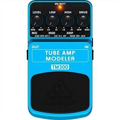 Behringer TM300Tube Amp Modeler FX chitarra pedale Stomp box.