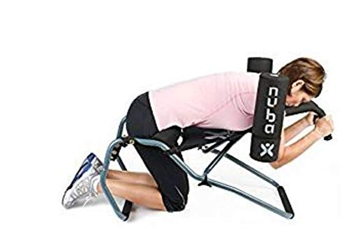 Nubax Trio Portable Back Traction Device – Back Pain Reliever for Spinal Decompression At Home – By Jobri