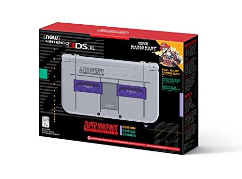 Nintendo New 3DS XL - Super NES Edition + Super Mario Kart for SNES