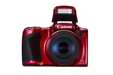Canon-PowerShot-SX410-IS-200-MP-Digital-Camera-with-40x-Optical-Zoom-24960mm-and-24mm-Wide-Angle-lens-30-Inch-LCD-and-720P-HD-Video-Red-Certified-Refurbished