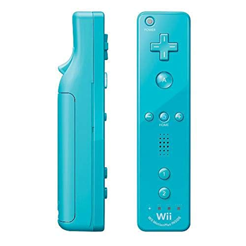 Nintendo Wii Remote Plus, Blue (Renewed)