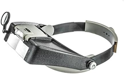 SE Illuminated Dual Lens Flip-In Head Magnifier – MH1047L