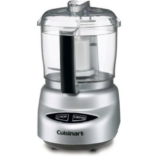 Cuisinart DLC-2ABC Mini Prep Plus Food Processor Brushed Chrome and Nickel