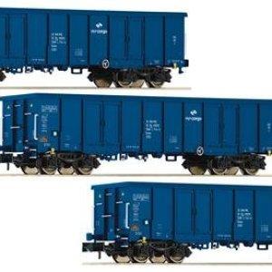 Fleischmann 828342 Start – PKP Cargo Eaos Gondola Set (3) VI 41KOcHZMb1L