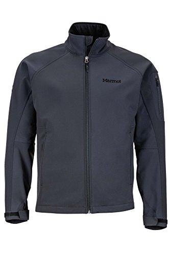 Marmot Gravity Men's Softshell Windbreaker Jacket, Jet Black, Medium