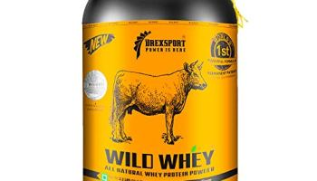 DREXSPORT – Wild Whey – Organic, Grass-fed Whey Protein Powder for Men and Women – Isolate + Concentrate – 1Kg Chocolate