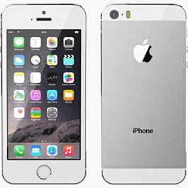 Original AppleiPhone Compatible Apple iPhone 5S – 64GB – iOS White (Unlocked) GPS WiFi 8MP 1080P Smartphone – Hermetic