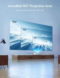 VAVA-4K-UST-Laser-TV-Home-Theatre-Projector-Bright-2500-ANSI-Lumens-Ultra-Short-Throw-HDR10-Built-in-Harman-Kardon-Sound-Bar-ALPD-30-Smart-Android-System-White