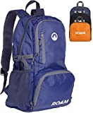 Roam Packable Backpack - Lightweight Foldable Daypack Water-Resistant, 25L, Durable Tear-Resistant Nylon Weave - Daypack for Travel, Hiking, Backpacking, Camping, Outdoors, Beach,