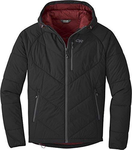 Outdoor Research Men's Refuge Hooded Jacket, Black, Medium