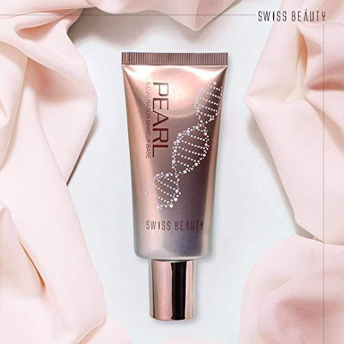 Swiss Beauty Pearl illuminator Makeup Base Liquid (Golden Pink, 35 g)