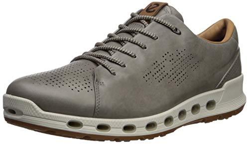 ECCO Men's Cool 2.0 Leather Gore-TEX Sneaker Warm Grey Retro 46 M EU (12-12.5 US)