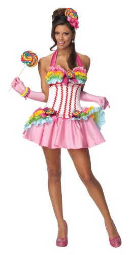 Secret Wishes Womens Lollipop Costume, Multicolor, Medium