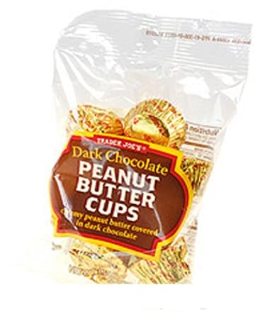 「Dark Chocolate PB Cups Trader Joes mini」の画像検索結果