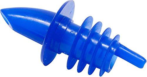 Carlisle OP31100 Free Liquor Pourer/Pour Spouts, Blue (Pack of 12)