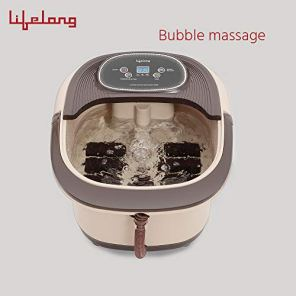 Lifelong-Electric-Foot-Spa-Massager-Machine-with-8-rollers-Digital-Panel-Bubble-Bath-Water-Heating-Technology-for-Pedicure-Pain-relief-Foot-Care