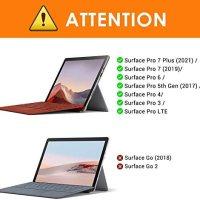 MoKo Microsoft Surface Pro 4 / Pro 3 / Surface Pro 2017 Type Cove 15