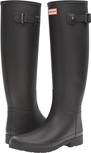 Hunter Women's Original Refined Tall Matte Black Boot