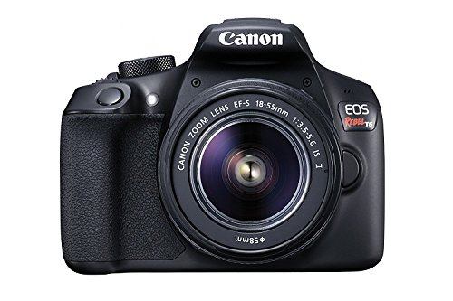 Canon EOS Rebel T6 Digital SLR Camera Kit with EF-S 18-55mm f/3.5-5.6 IS II Lens, Built-in WiFi and NFC - Black (US Model)