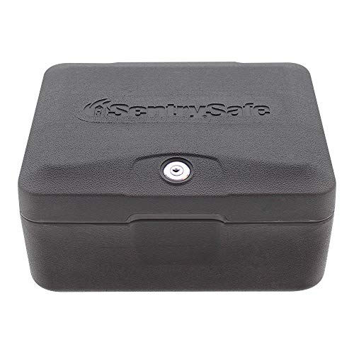 SentrySafe 0500 Fireproof Box with with Key Lock, 0.15 Cubic Feet