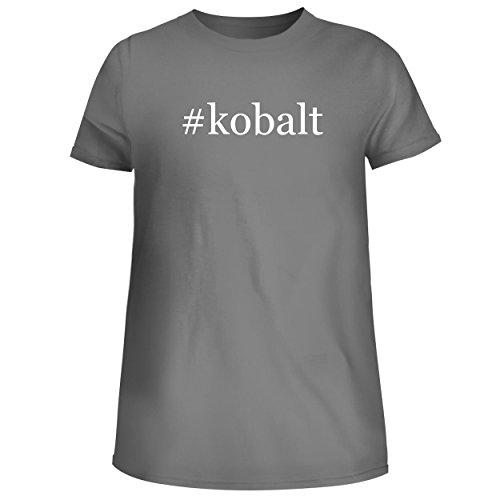 #Kobalt - Cute Women's Junior Graphic Tee, Grey, X-Large