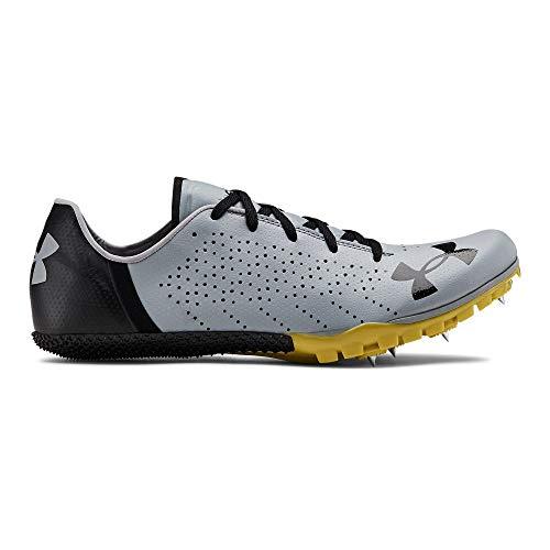 Under Armour Kick Sprint 2 Athletic Shoe, Steel (101)/Metallic Gold, 8