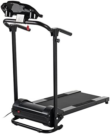 ZELUS Folding Treadmill for Home Gym, Portable Wheels, 750W Electric Foldable Running Cardio Machine with Cup Holder, Sports App Walking/Runners Exercise Equipment 10