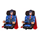 Kids Embrace DC Comics Superman Combination Harness Booster Car Seat with Cape (2 Pack)