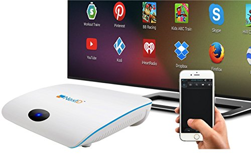 NextD TV: 1 Million Apps & Games on TV, Only Smart TV Player with Multi-Touch and Motion Control Via Smartphone Remote App, Enabling 100X More Apps Than Other TV Boxes