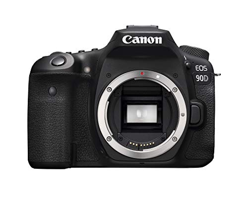 Canon-DSLR-Camera-EOS-90D-with-Built-in-Wi-Fi-Bluetooth-DIGIC-8-Image-Processor-4K-Video-Dual-Pixel-CMOS-AF-and-30-Inch-Vari-angle-touch-LCD-screen-Body-Only-Black
