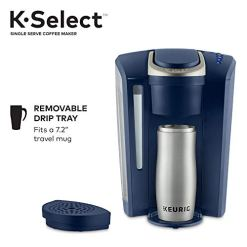 Keurig-K-Select-Coffee-Maker-Single-Serve-K-Cup-Pod-Coffee-Brewer-With-Strength-Control-and-Hot-Water-On-Demand-Matte-Navy