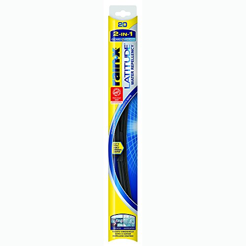 Rain-X 5079277-2 Latitude 2-in-1 Water Repellency Wiper Blade - 20-inches