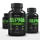 Neovicta Alpha Testosterone Booster for Men - Male Enhancing Pills - Enlargement Supplement - Increase Size, Strength, Stamina & Vitality - Fat Loss & Muscle Growth Test Boost - 1 Month Supply