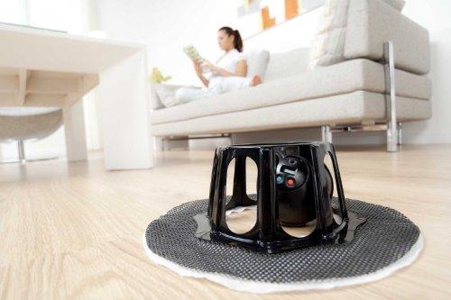 RoboMop SoftBase Robotic Floor Sweeper + Bonus 25 Pack Refills