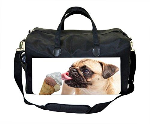 Puppy Licking Ice Cream Weekender Bag