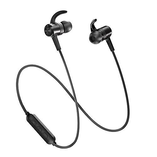 TaoTronics Wireless Earbuds Sweatproof Sport Earphones
