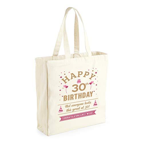 30th Birthday, Funny Gift Keepsake For Women, Novelty Ladies