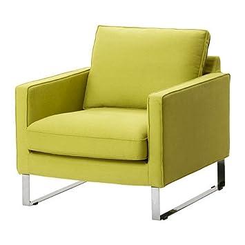 Ikea Mellby Housse De Fauteuil Dansbo Jaune Vert Amazon
