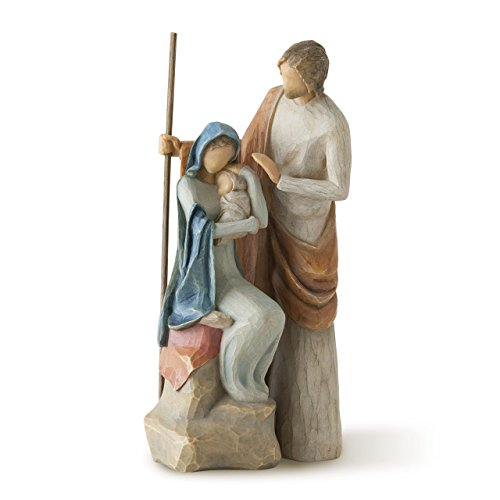 Willow Tree The Holy Family, sculpted hand-painted nativity figure